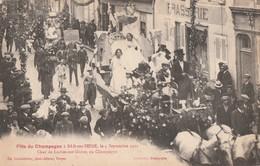 LE CHAR DE LOCHES SUR OURCE DEFILE LORS DE LA FETE DU CHAMPAGNE DU 4.09.21 - BELLE CARTE TRES TRES ANIMEE - TOP !!! - Other Municipalities