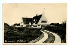 "Knokke Zoute - Villa Royale - Koninklijke Villa "" Roemah Laoet"" (1947) - Knokke"