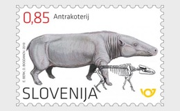 Slovenia 2019 - The Anthracothere Mnh - Slovénie