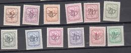 Belgie - Belgique Ocb Nr :  PRE 780 - 792 ** MNH (zie Scan) Zonder 791 - Typografisch 1951-80 (Cijfer Op Leeuw)