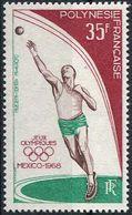 Polynesie RF 1968. Michel #68 MNH/Luxe. Summer OG, Mexico-1968 (Ts29) - Zomer 1968: Mexico-City