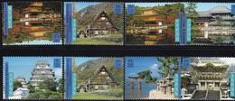 UNO-New York , 2001, 872/79, UNESCO-Welterbe: Japan.  MNH ** - New-York - Siège De L'ONU