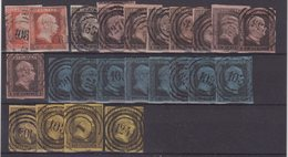 PRUSSE : 23 EX . OBL . AB . 1850/56 . - Prusse