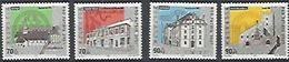 Schweiz Suisse Pro Patria 2001: Kultur-Denkmale Zu WII272-275 Mi 1753-56 Yv 1678-81 ** MNH (Zu CHF 11.50) - Pro Patria