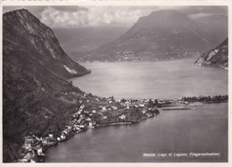 Flugaufnahme, Lago Di Lugano, Melide - TI Ticino