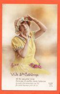Nw940 Vive SAINTE-CATHERINE Ste Ne Fais Pas Grise Mine Parceque Tu Coiffes .. DIX 1878 - Sainte-Catherine