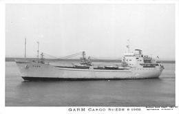 """¤¤  -  Carte-Photo D'un Bateau De Commerce """" GARM """"  -   Cargo       -  ¤¤ - Commerce"""