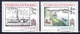Tchécoslovaquie 1982 Mi 2677-8 (Yv 2499-2500), Obliteré - Tsjechoslowakije