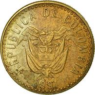 Monnaie, Colombie, 20 Pesos, 1991, TB+, Aluminum-Bronze, KM:282.1 - Colombie