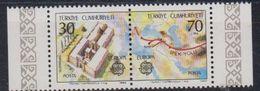 Europa Cept 1982 Turkey 2v  ** Mnh (45905E) - Europa-CEPT