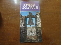 LIBRETTO  INFORMATIVO CITTA' DI CHIUSA SCLAFANI (PA) - Arte, Architettura