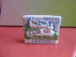 Fève Le Crussol Série Leclerc  Bourg Les Valences  1995 ¤ Fèves ¤ Rare Ancienne - Région
