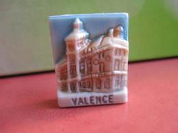 Fève Valence Série Leclerc  Bourg Les Valences  1995 ¤ Fèves ¤ Rare Ancienne - Région
