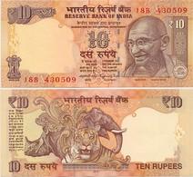 INDIA      10 Rupees      P-102ai       2016       UNC  [ Sign. Rajan - Letter V ] - Indien