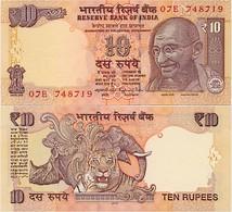INDIA      10 Rupees      P-102y       2015       UNC  [ Sign. Rajan - Letter N ] - Indien