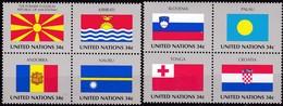 UNO-New York , 2001, 862/69,  MNH **, Flaggen Der UNO-Mitgliedstaaten (XIV). - New York – UN Headquarters