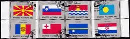 UNO-New York , 2001, 862/69, Used First Day Oo, Flaggen Der UNO-Mitgliedstaaten (XIV). - New-York - Siège De L'ONU