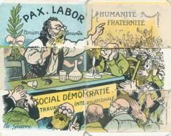 Carte-à-Système RARE - Social-Démokratie - Satirisch