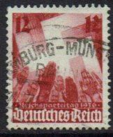 DR,1936, MiNr 633, Gestempelt - Germania