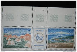 Triptyque TAAF 26A (Poste Aérienne) Etat Luxe ** - French Southern And Antarctic Territories (TAAF)