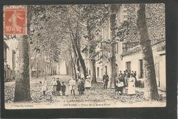 JOYEUSE -- Place De La Grand - Fond - Voyagée 1910 - TRES ANIMEE - Joyeuse