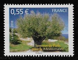 N° 4259 SOMMET DE PARIS POUR LA MEDITERRANEE NEUF ** TTB COTE 2 € - Frankreich