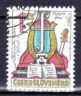 Tchécoslovaquie 1986 Mi 2859 (Yv 2673 ), Obliteré - Usati