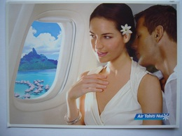 Avion / Airplane / AIR TAHITI NUI / Boeing B 787-9 Dreamliner Cabin / Airline Issue - 1946-....: Modern Era