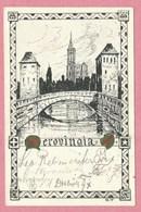 "67 - STRASSBURG - STRASBOURG - Carte D'étudiant - "" Merovingia "" - Studentika - Strasbourg"