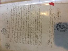 THONNELLE - Acte Naissance Noblesse - De Beraud Darimont 1789 - Naissance & Baptême