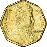 Monnaie, Chile, 5 Pesos, 2004, Santiago, TTB, Aluminum-Bronze, KM:232 - Chile