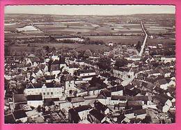 LES AIX D'ANGILLON CHER 12387 VUE AERIENNE SUR L'EGLISE ET LE DONJON - Les Aix-d'Angillon
