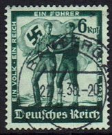 DR,1938, MiNr 662, Gestempelt - Used Stamps