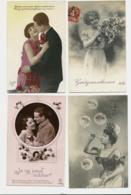 BEAU LOT DE 20 CARTES POSTALES FANTAISIE / ANNEE DEBUT 1900 . Cartes Ecrite .LOT 1 FRAIS DE LIVRAISON VOIR ANNONCE - Cartoline