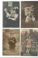 BEAU LOT DE 20 CARTES POSTALES FANTAISIE / ANNEE DEBUT 1900 . Cartes Ecrite .LOT 2 FRAIS DE LIVRAISON VOIR ANNONCE - Cartoline