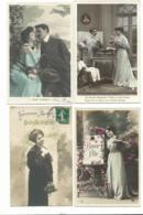 BEAU LOT DE 20 CARTES POSTALES FANTAISIE / ANNEE DEBUT 1900 . Cartes Ecrite .LOT 3 FRAIS DE LIVRAISON VOIR ANNONCE - Cartoline