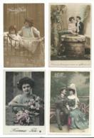 BEAU LOT DE 20 CARTES POSTALES FANTAISIE / ANNEE DEBUT 1900 . Cartes Ecrite .LOT 4 FRAIS DE LIVRAISON VOIR ANNONCE - Cartoline