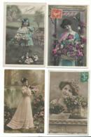 BEAU LOT DE 20 CARTES POSTALES FANTAISIE / ANNEE DEBUT 1900 . Cartes Ecrite .LOT 6 FRAIS DE LIVRAISON VOIR ANNONCE - Cartoline