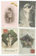 BEAU LOT DE 20 CARTES POSTALES FANTAISIE / ANNEE DEBUT 1900 . Cartes Ecrite .lot 7 FRAIS DE LIVRAISON VOIR ANNONCE - Cartoline