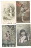 BEAU  LOT DE 20 CARTES POSTALES FANTAISIE / ANNEE DEBUT 1900 . Cartes Ecrite .lot 9 FRAIS DE LIVRAISON VOIR ANNONCE - Cartoline