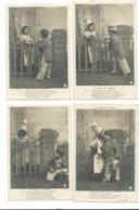 BEAU  LOT DE 16 CARTES POSTALES FANTAISIE / ANNEE DEBUT 1900 . Cartes Ecrite .lot 10 FRAIS DE LIVRAISON VOIR ANNONCE - Cartoline