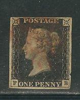 GRANDE BRETAGNE N° 1 Obl. (infime Défaut) - 1840-1901 (Victoria)