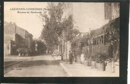 Lézignan - Corbiéres (Aude) -- Avenue De Narbonne -- TERMINUS -- écrite En 1940 - Autres Communes