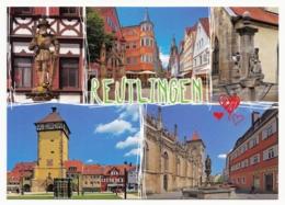 Reutlingen - 5 Ansichten Historischer Bauten - Reutlingen