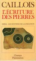 L'écriture Des Pierres Par Roger Caillois (ISBN 2605000087 EAN 9782605000081) - Art