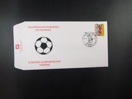"""BELG.2000 2894 FDC (Wetteren) : """" Championnat D'EUROPE De Football /Europees Kampioenschap Voetbal  """" - FDC"""