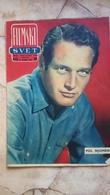 VINTAGE 1962 YUGOSLAVIA FILM MOVIE MAGAZINE NEWSPAPERS ELIZABETH TAYLOR  Paul Newman Jean Marais NATALIE WOOD - Livres, BD, Revues