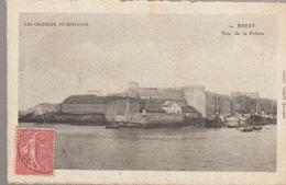 C. P. A. - BREST - LES CHATEAUX DE BRETAGNE - VUE DE LA POINTE - 14 - VILLARD - Brest