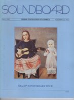 Revue Guitare Soundboard Guitar Fondation Of America N° 2 - 1993 - Art