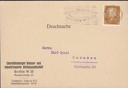 Germany - Charlottenburg Wasser-u. Industriewerke AG. BERLIN, 18.12.1932 - Nowawes. Mi. 410 EF.Perfin/Firmenlochung 'CW' - Briefe U. Dokumente